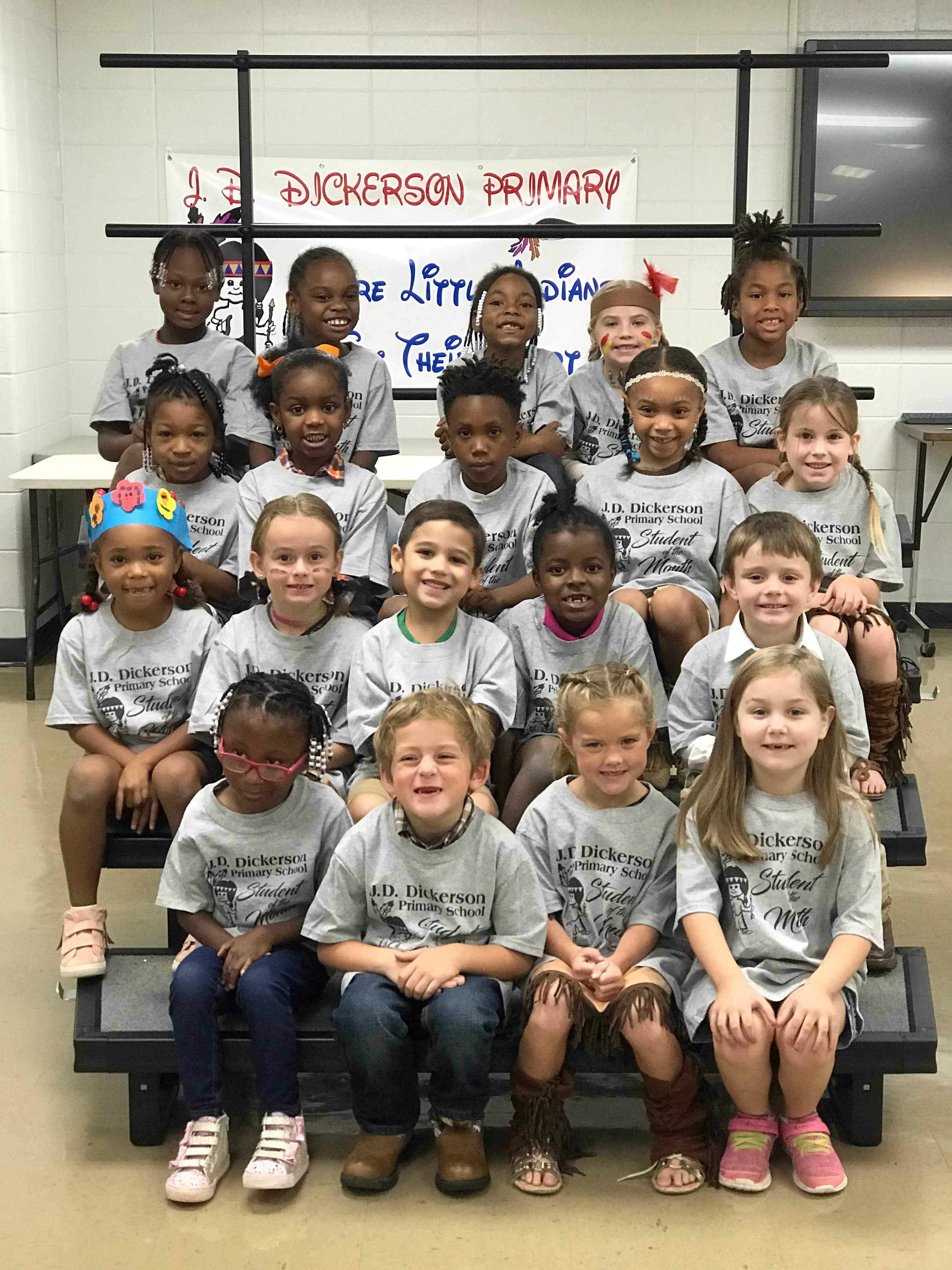JD Dickerson Students of the Month