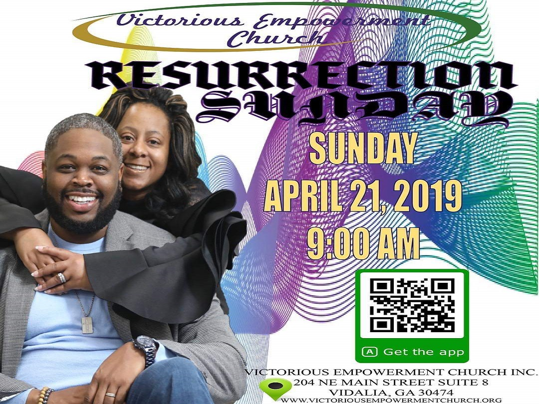 2019 04-21 Resurrection Sunday at Victorious Empowerment Church