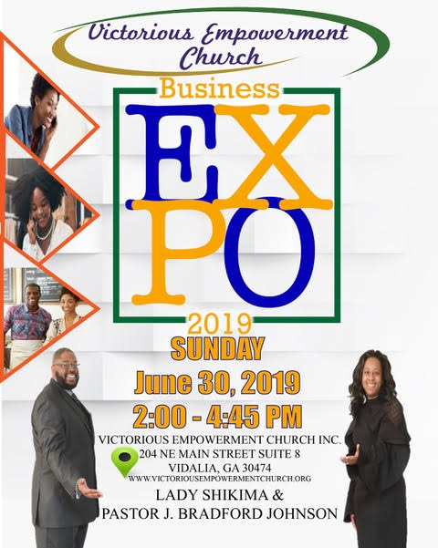 2019 06-30 Business Expo at Victorious Empowerment Church