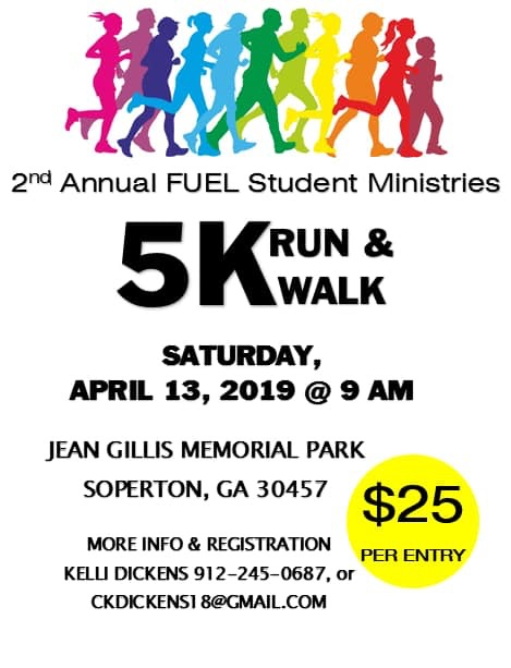 2019 04-13 FUEL Run & Walk in Soperton!