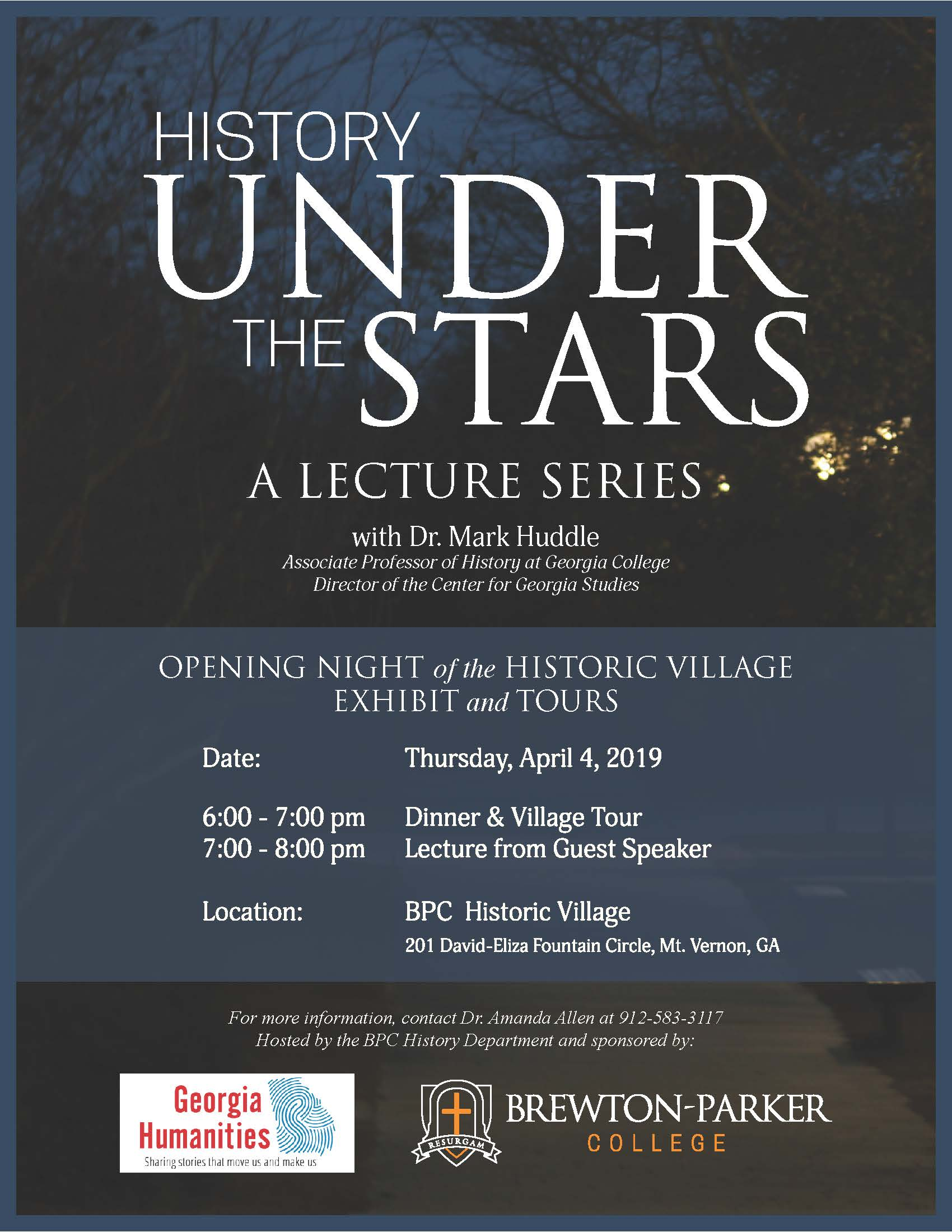 2019-04-04 His History Under the Stars