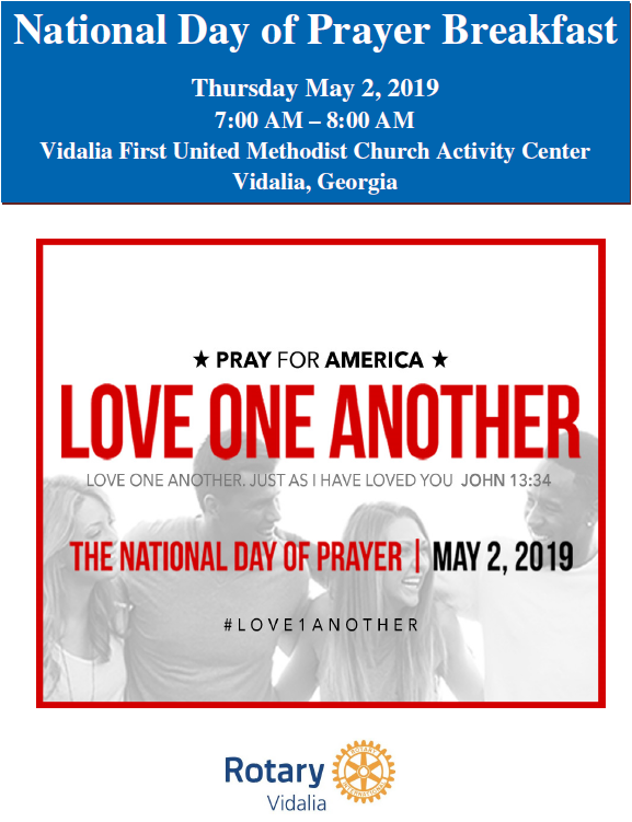 2019-05-02 National Day of Prayer Breakfast