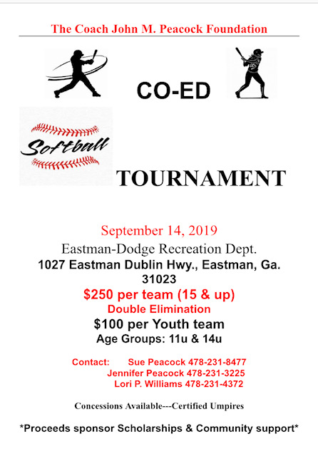 2019-09-14 Eastman Dodge Co-Ed Softball Tournament
