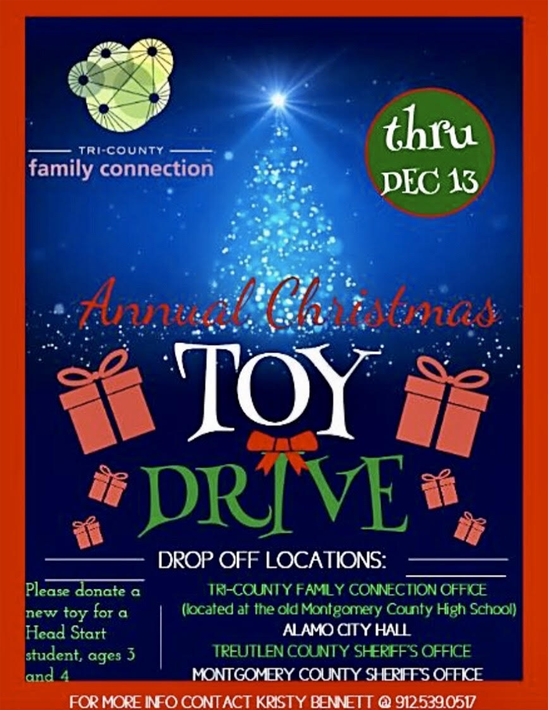 2019-12-13 Toy Drive - Tri-County Family Connection
