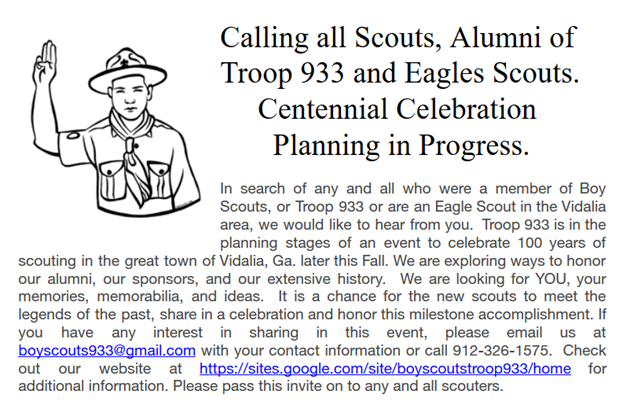 2019 - Calling All Scouts