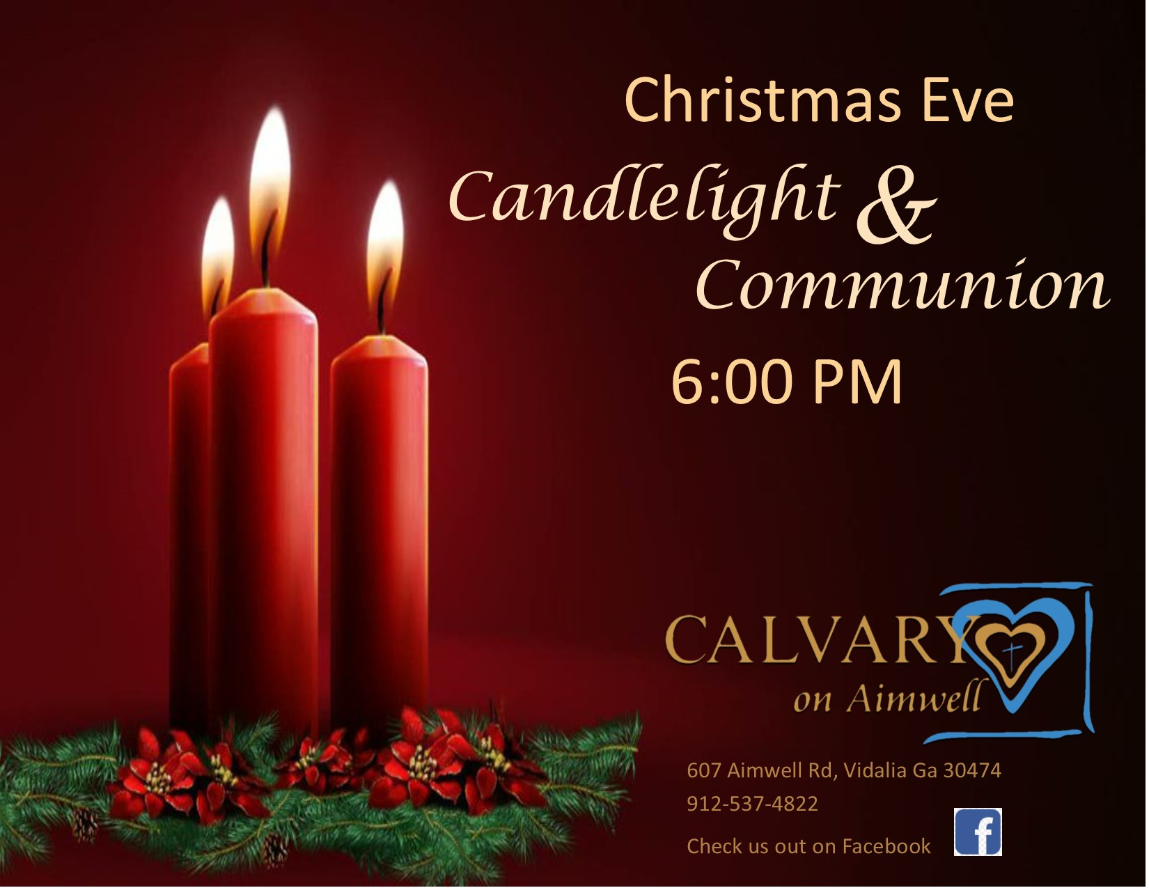 2019-12-24 Candlelight & Communion - Calvary on Aimwell