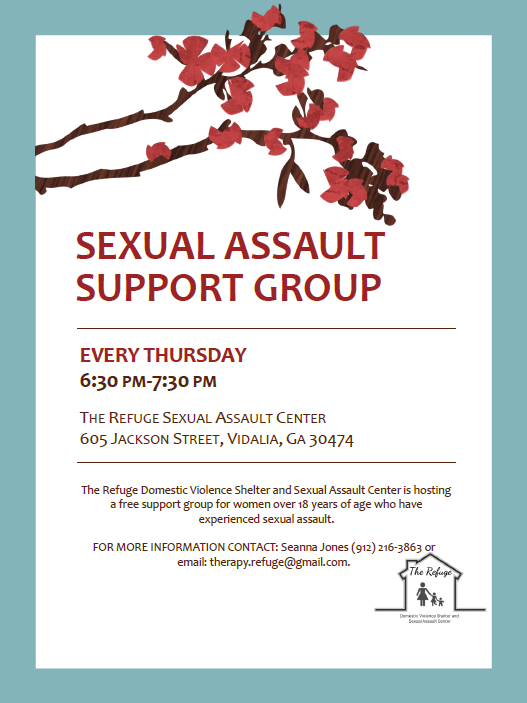 Sexual Assault Support Group Every Thursday