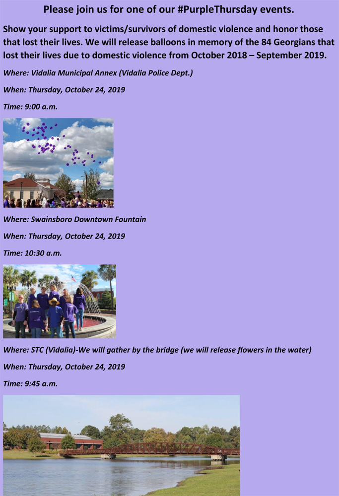 2019-10-24 Purple Thursday