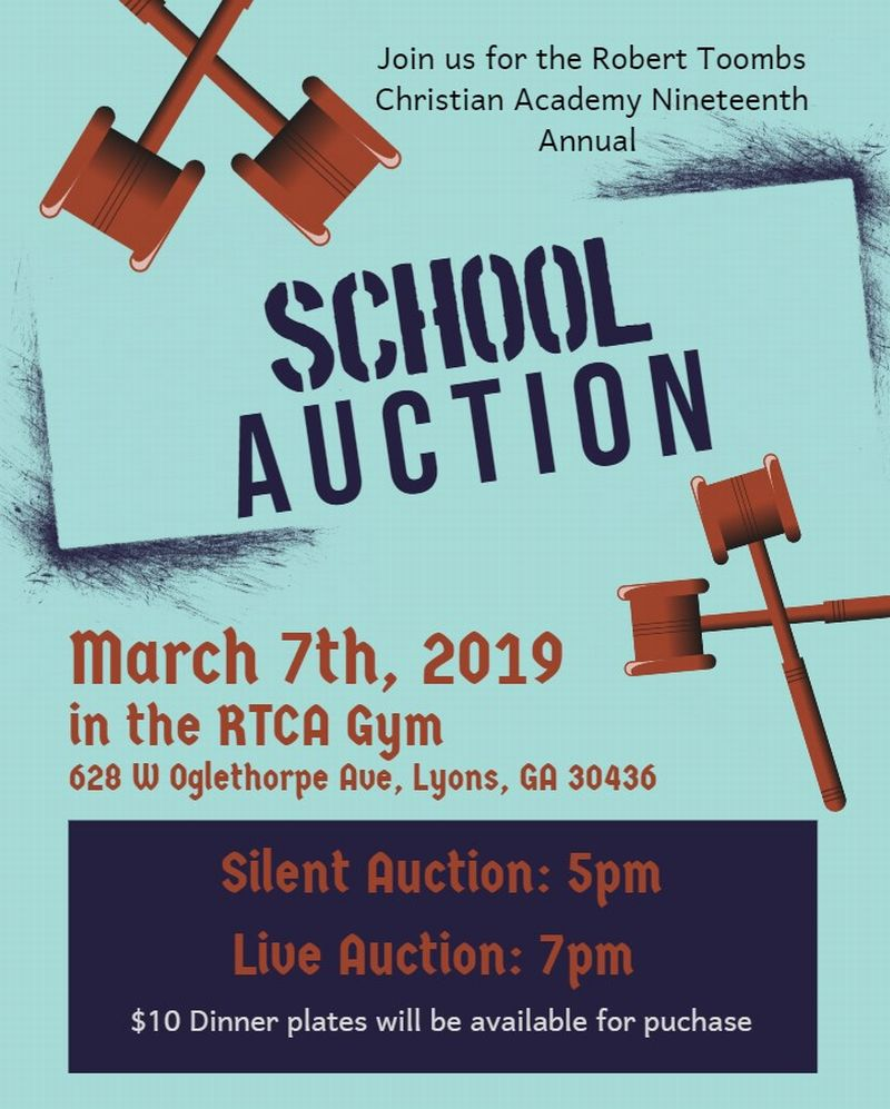 2019-03-07 RTCA's Annual Auction