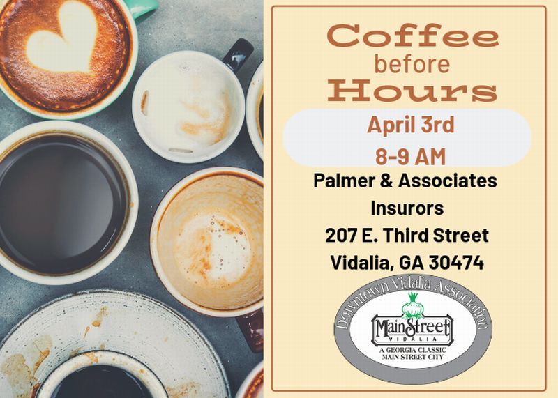 2019-04-03 Coffee Before Hours in Vidalia