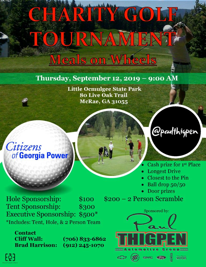 2019-09-12 Meals on Wheels Benefit Golf Tourney