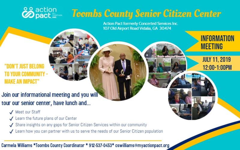 2019-07-11 Senior Citizen Info Meeting