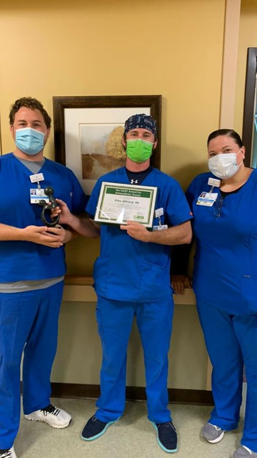 Kirby Allmond Receives May DAISY Award for Extraordinary Nurses