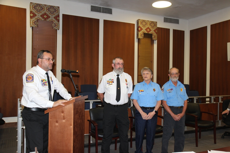 Toombs County Fire Recognizes Firefighters