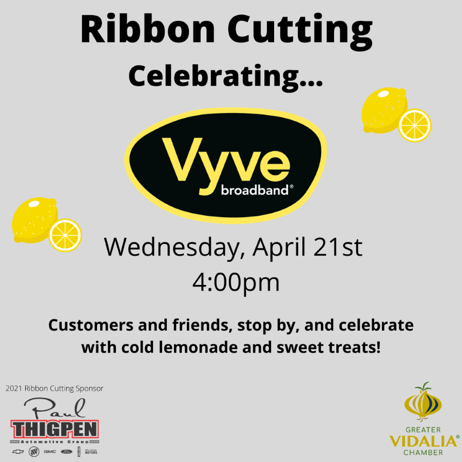 Vyve Ribbon Cutting Flyer