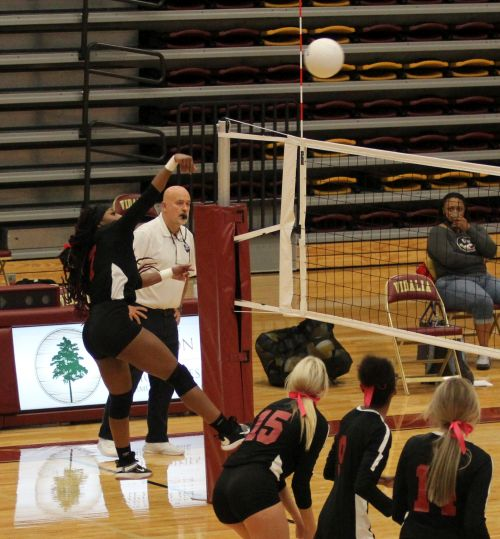 Lady Indians Volleyball Advances to Second Round of State Playoffs