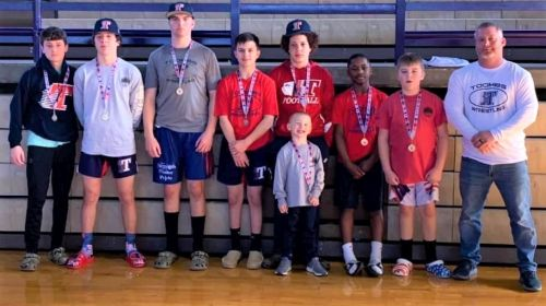 Toombs County wrestlers Finish in 2nd Place at AAU State and Three State Champs.
