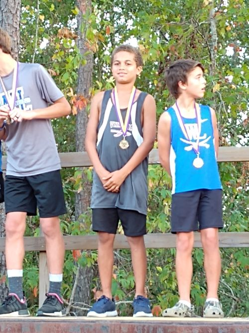 J.R. Trippe Cross Country Team Competes at Region