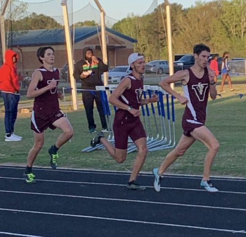 VHS Track & Field Teams Win at West Laurens