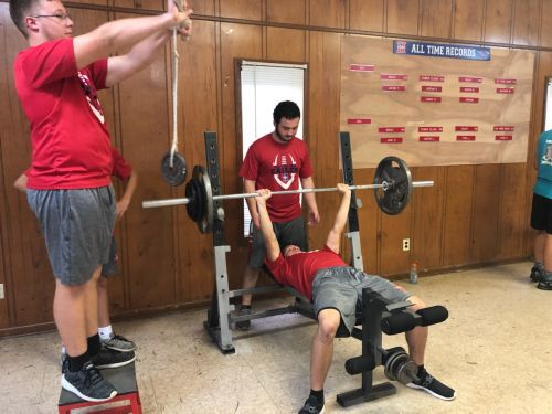 VHA Eagles Football Continue Workouts