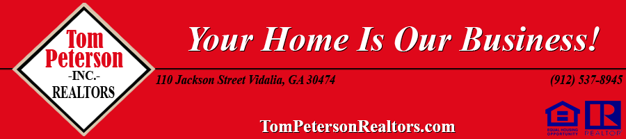 Tom Peterson Realty - HOME BELOW NEWS
