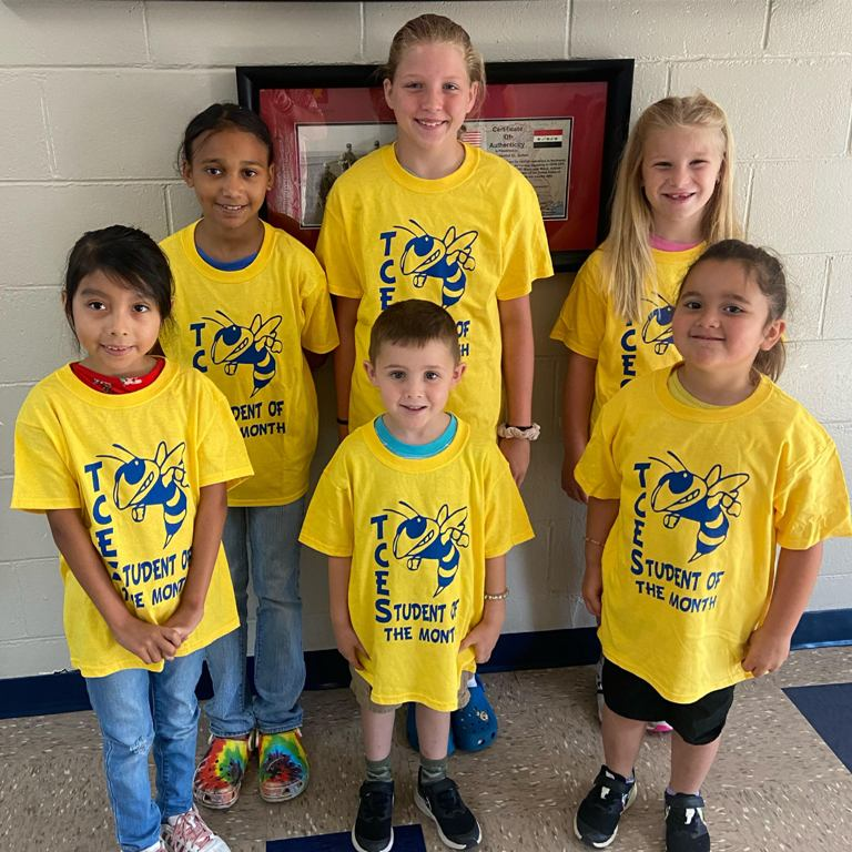 TCES Students of the Month