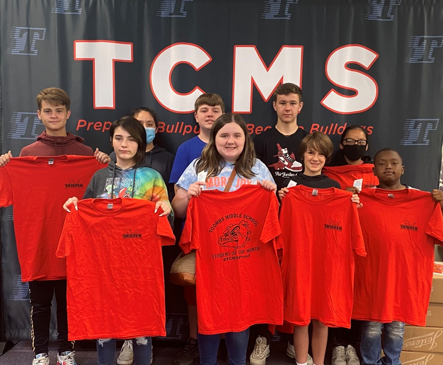 TCMS Students of the Month