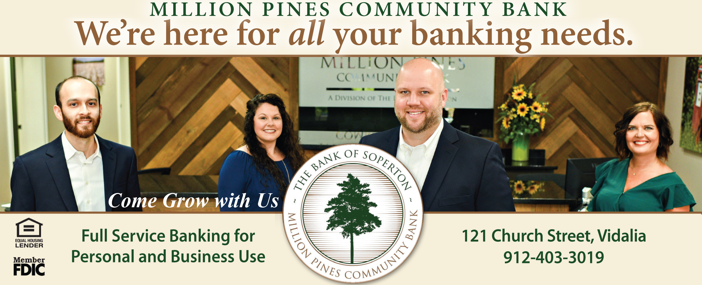 Million Pines Community Bank - Secure Checking